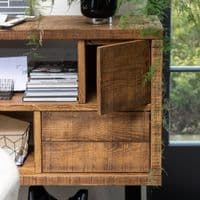 Armstrong Tall Bookcase | Room Divider | Handmade